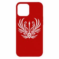 Чохол для iPhone 12 Pro Max Герб України у вигляді арфи