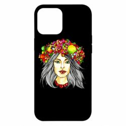 Чохол для iPhone 12 Pro Max Girl and wreath