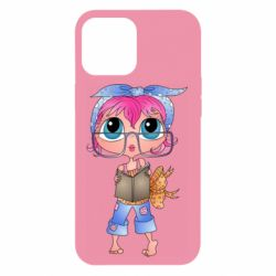Чохол для iPhone 12 Pro Max Girl with a book