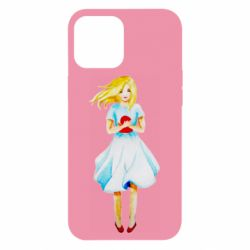 Чехол для iPhone 12 Pro Max Girl with a doll art