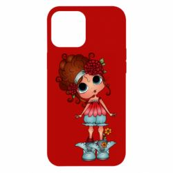 Чехол для iPhone 12 Pro Max Girl with big eyes