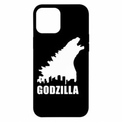Чохол для iPhone 12 Pro Max Godzilla and city