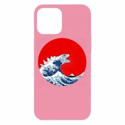 Чохол для iPhone 12 Pro Max Godzilla Wave