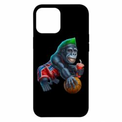 Чохол для iPhone 12 Pro Max Gorilla and basketball ball