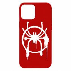 Чохол для iPhone 12 Pro Max Graffiti Spider Man Logo
