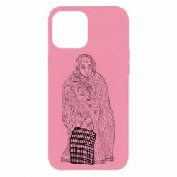Чехол для iPhone 12 Pro Max Grandmother with bag