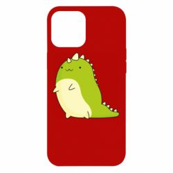 Чохол для iPhone 12 Pro Max Green dinosaur