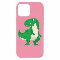 Чохол для iPhone 12 Pro Max Green little dinosaur