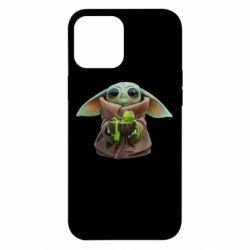 Чохол для iPhone 12 Pro Max Grogu and Kermit