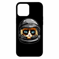Чехол для iPhone 12 Pro Max Grumpy Cat Astronaut
