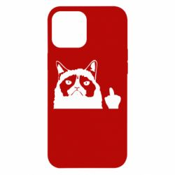 Чохол для iPhone 12 Pro Max Grumpy cat F**k Off