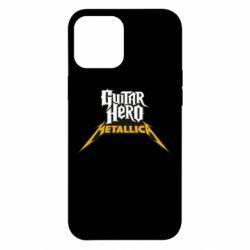 Чехол для iPhone 12 Pro Max Guitar Hero Metallica
