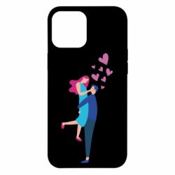 Чохол для iPhone 12 Pro Max Guy and girl happiness