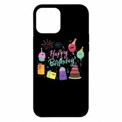 Чохол для iPhone 12 Pro Max Happy Birthday