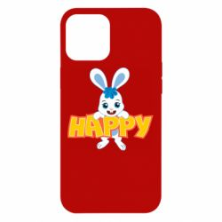 Чехол для iPhone 12 Pro Max Happy bunny