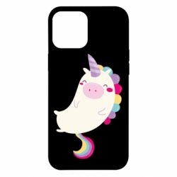 Чехол для iPhone 12 Pro Max Happy color unicorn