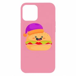 Чехол для iPhone 12 Pro Max Happy hamburger