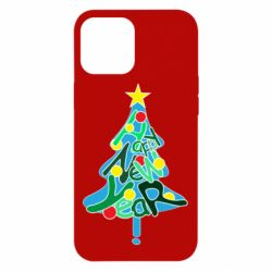 Чохол для iPhone 12 Pro Max Happy new year on the tree