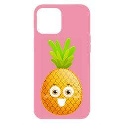Чехол для iPhone 12 Pro Max Happy pineapple