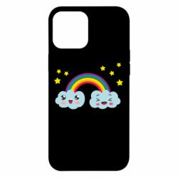 Чехол для iPhone 12 Pro Max Happy rainbow