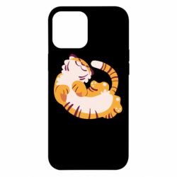 Чохол для iPhone 12 Pro Max Happy tiger