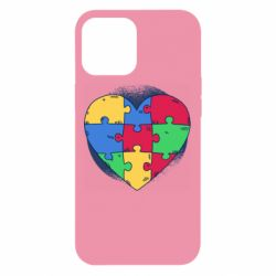 Чохол для iPhone 12 Pro Max Heart puzzle