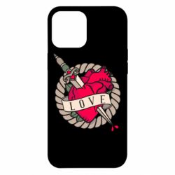 Чехол для iPhone 12 Pro Max Heart with sword