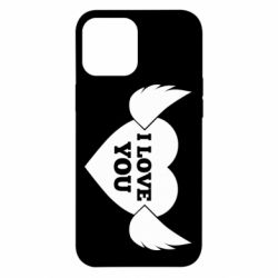Чохол для iPhone 12 Pro Max Heart with wings