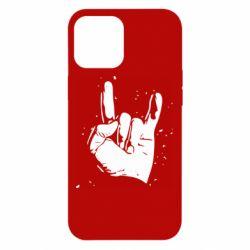 Чехол для iPhone 12 Pro Max HEAVY METAL ROCK