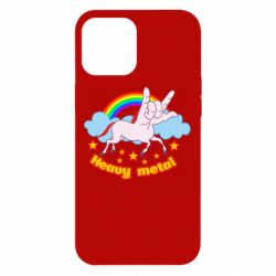 Чехол для iPhone 12 Pro Max Heavy metal unicorn