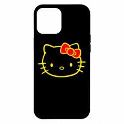 Чехол для iPhone 12 Pro Max Hello Kitty logo