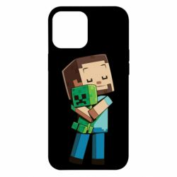 Чехол для iPhone 12 Pro Max Heroes from Minecraft