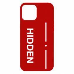 Чохол для iPhone 12 Pro Max Hidden