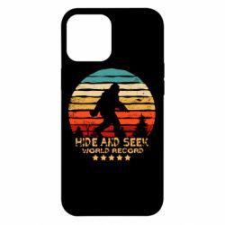 Чехол для iPhone 12 Pro Max Hide and seek world record