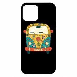 Чохол для iPhone 12 Pro Max Hippie bus