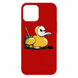 Чохол для iPhone 12 Pro Max Hockey duck