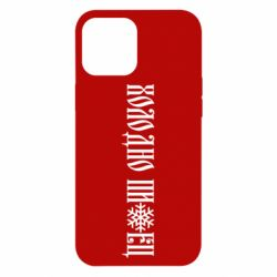 Чохол для iPhone 12 Pro Max Холодно зі сніжинкою