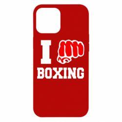 Чехол для iPhone 12 Pro Max I love boxing