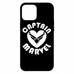 Чохол для iPhone 12 Pro Max I love Captain Marvel