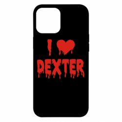 Чехол для iPhone 12 Pro Max I love Dexter