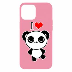 Чохол для iPhone 12 Pro Max I love Panda