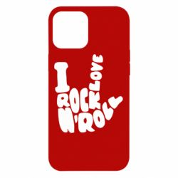 Чохол для iPhone 12 Pro Max I love rock'n'roll