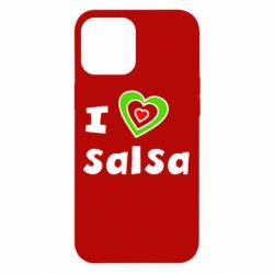 Чохол для iPhone 12 Pro Max I love Salsa