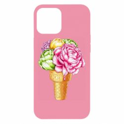 Чохол для iPhone 12 Pro Max Ice cream flowers