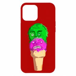 Чехол для iPhone 12 Pro Max Ice cream with face