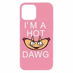 Чехол для iPhone 12 Pro Max Im hot a dawg