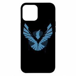 Чехол для iPhone 12 Pro Max Infamous: Second Son - Karmic titles one blue