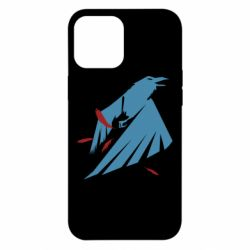 Чехол для iPhone 12 Pro Max Infamous: Second Son - Karmic titles two blue