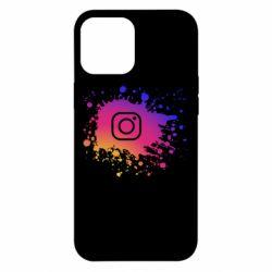 Чехол для iPhone 12 Pro Max Instagram spray