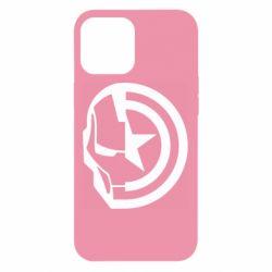Чохол для iPhone 12 Pro Max Iron Man and Captain America